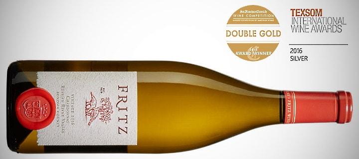 Fritz Russian River Chardonnay - vinflaska och priser