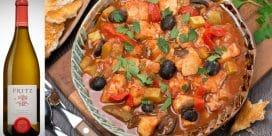 Veckans tips! Siciliansk fiskgryta med Fritz Chardonnay