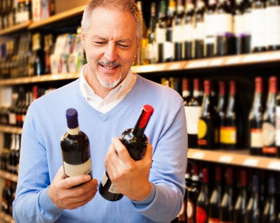 Four Cousins Crisp White - man väljer  vin med mindre alkohol