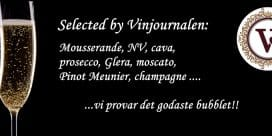 Selected by Vinjournalen: Mousserande viner rakt av!