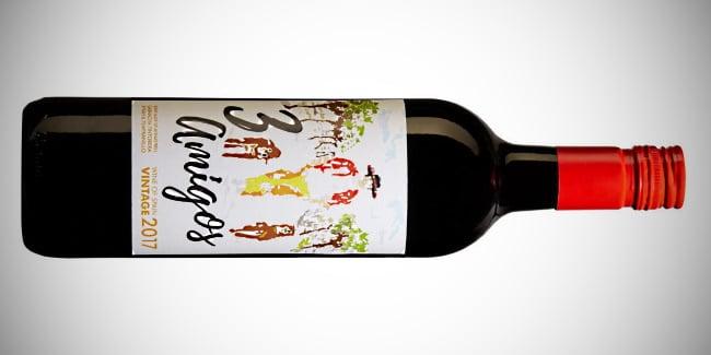 spanska viner - rött 3 amigos