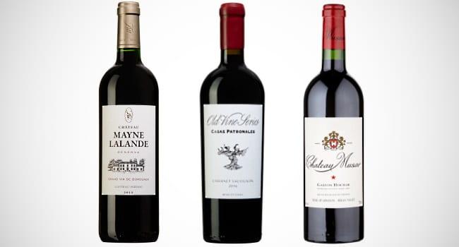 Cabernet Sauvignon - 3 olika viner