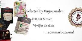 Selected by Vinjournalen.se: de 6 bästa sommarboxarna!