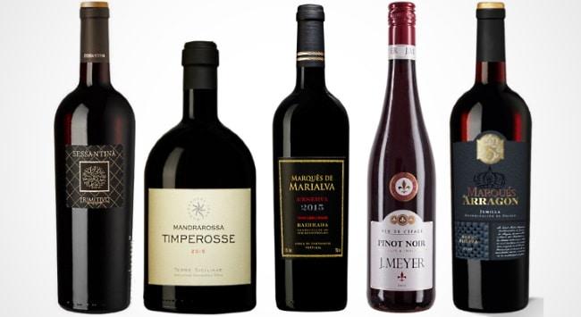 till grillen - fler viner som provas