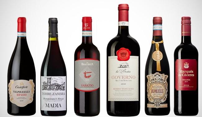 sommarviner - de 6 första vinerna