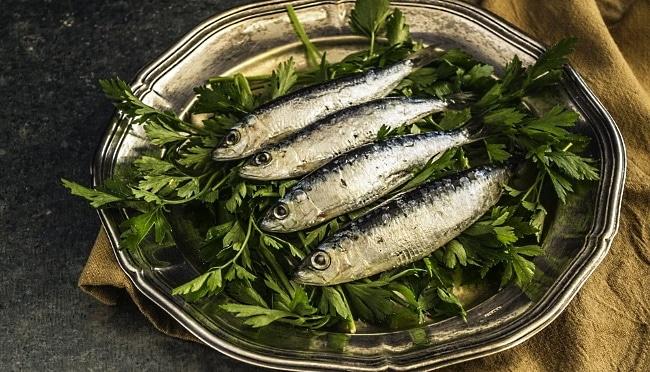 Franciacorta - matspecialitet sardiner