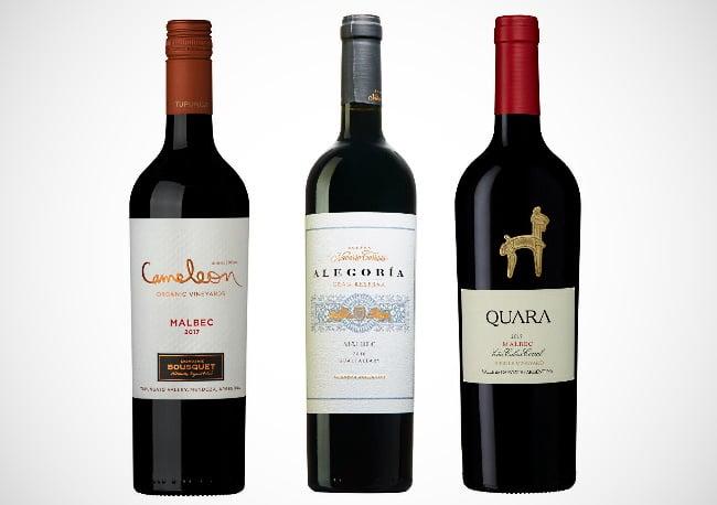 malbec - de tre provade vinerna