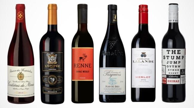 sommarviner - de 6 följande vinerna