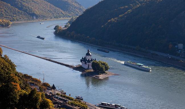 Pfalz - floden Rhen