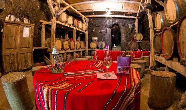 Vinlandet Bulgarien - vinkällare