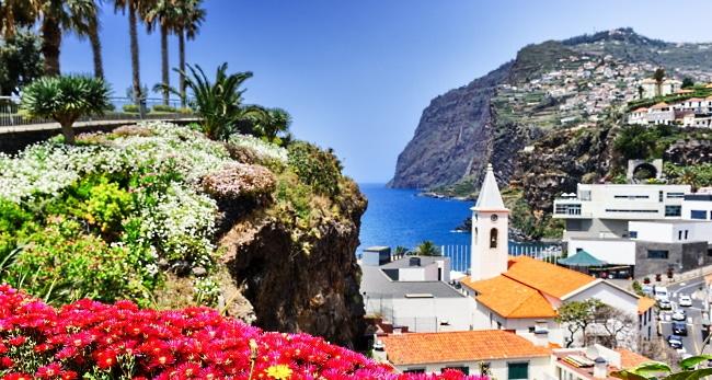 Madeira - ön och panoramabild