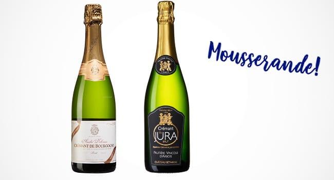 fransk viner - mousserande viner