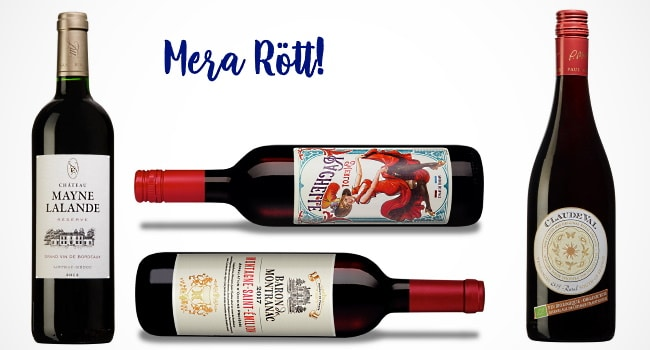 franska viner - mera röda viner