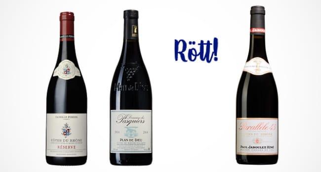 franska viner - röda viner