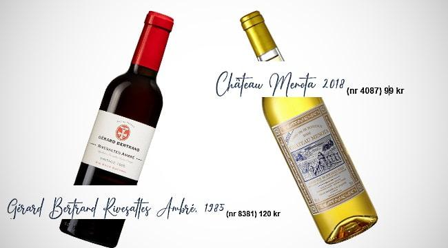 söta viner - 2 franska söta viner