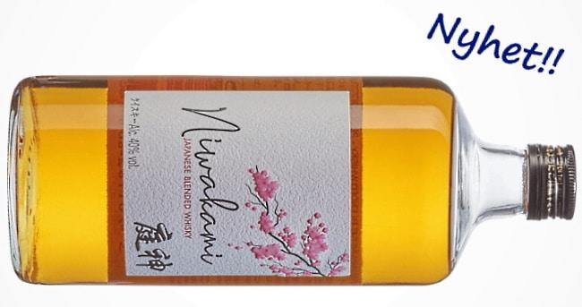 japansk whisky - Niwakami Japanese Blended Whisky