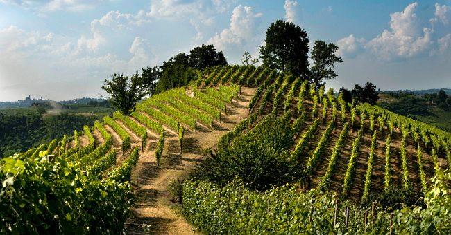 regionen Piemonte vacker vy