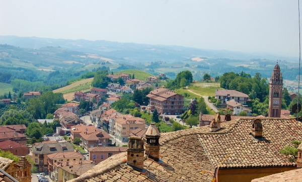 The Green Experience - utsikt över Piemonte