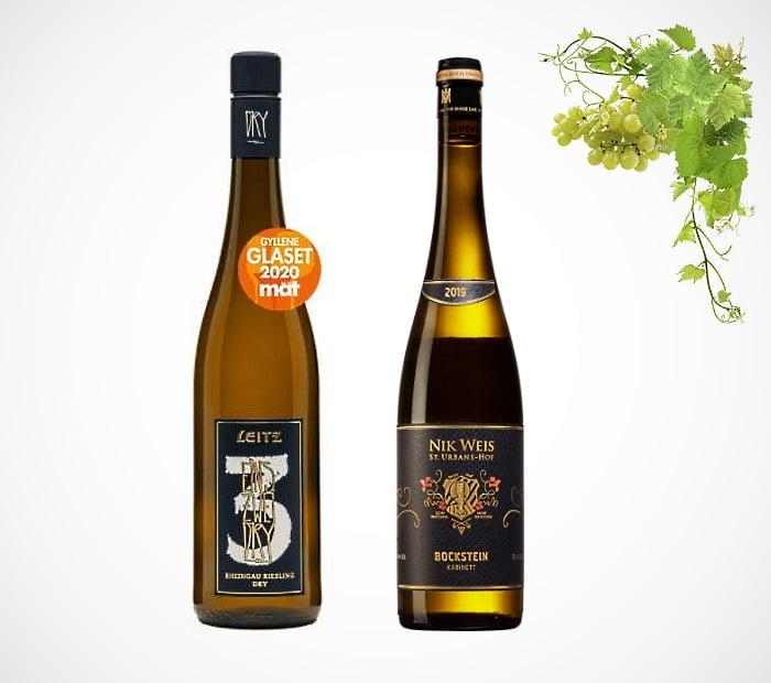 Druvan Riesling - 2 viner