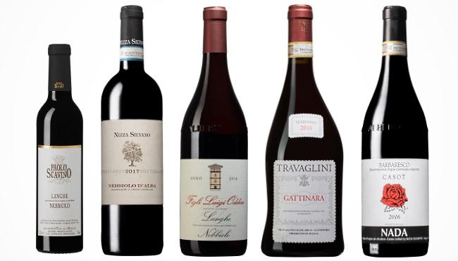 Nebbiolo - bild på 5 provade viner