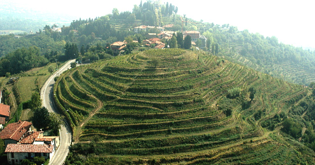 Terre Lariane - omslagsbild på terrasser
