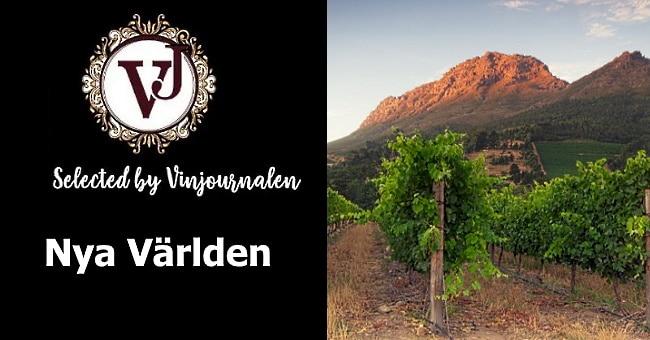 Vin från nya världen - omslagsbild med logo