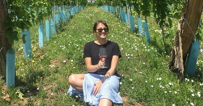 Vinlandet Georgien - Tamta i vingården