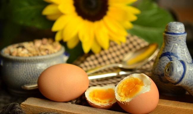 ägg-stra viner hårdkokta ägg