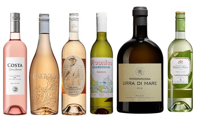 Vintips Valborg rosé och vita viner