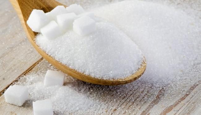 socker i vin - en hög med socker