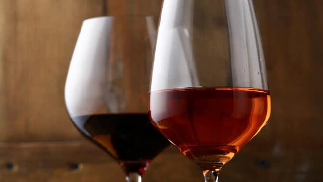 söta viner i olika färg