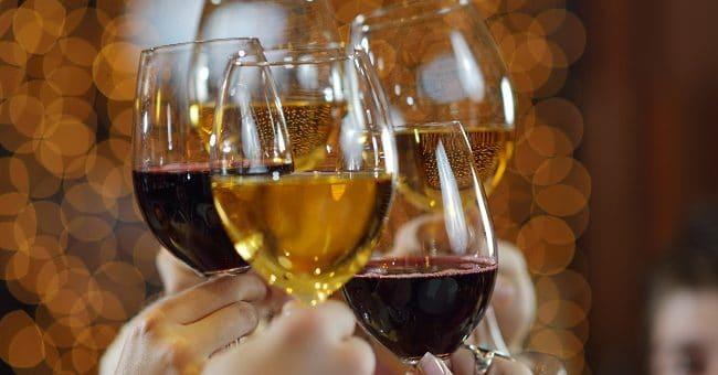 två vinprovningar