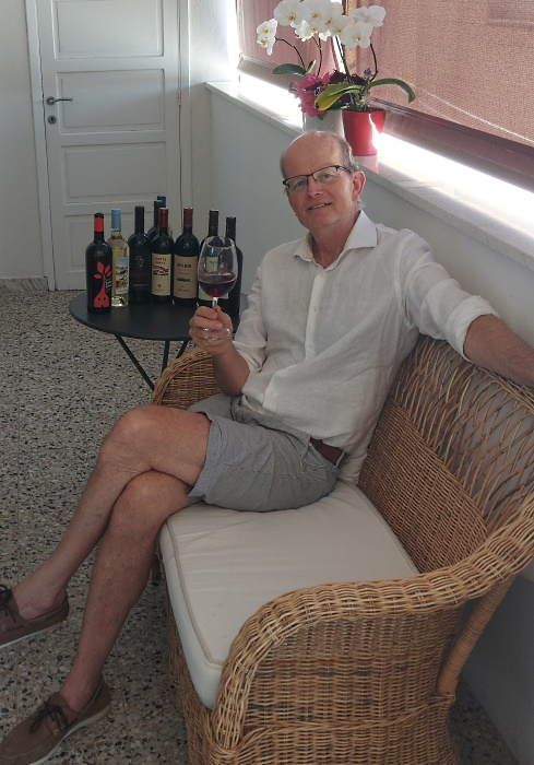 Sardinien Måns Hallqvist