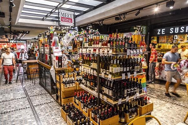 Sarona market Tel Aviv Israel