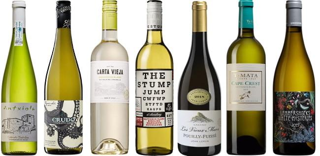 vitt vin till grillad lax - 7 viner