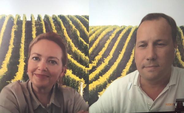 Anja Nordberg Sonesson och David Blomgren från Vindestination Skåne