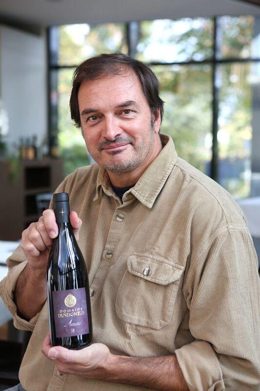 Bernard Duseigneur är ägare och vinmakare på Domaine Duseigneur i Châteauneuf-du-Pape