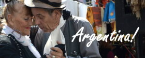 argentinas viner - ett par som dansar tango