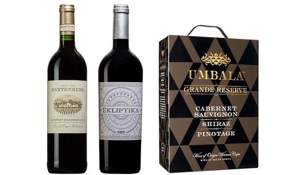 Sydafrikas Cabernet-viner - 3 viner