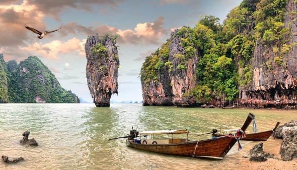 James Bond Island, i Thailand