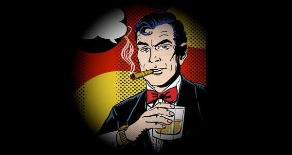 james Bond cartoon